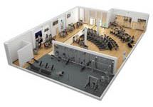 Best fitness almeria images in gym gym design gym