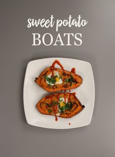 Move your standard morning meal aside and make room for this delicious recipe that uses sweet potatoes or yams. Sail off in these Sweet Potato Boats to a flavorful bite filled with bacon, eggs, and sweet onions. Throw in some spinach and garlic and top these breakfast boats off with hot sauce to give yourself a much needed morning kick!