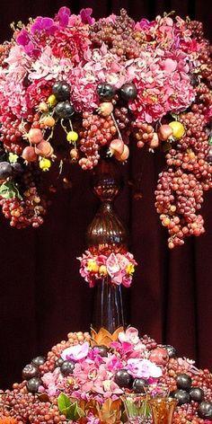 centro de flores, Preston ideas de eventos bailey