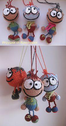 Игрушки от Кумутушки: Шустрик (мастер-класс)
