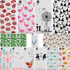 미키 & 미니 키스 입술 파인애플 유니콘 플라밍고 선인장 팬더 클리어 소프트 실리콘 case 커버 bq aquaris e4.5 e5 x5 m5 M5.5