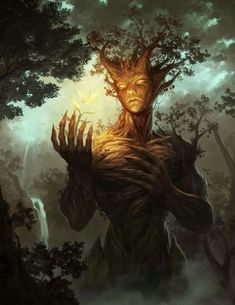 New ideas mother nature artwork god Forest Creatures, Magical Creatures, Greek Creatures, Fantasy World, Dark Fantasy, Character Inspiration, Character Art, Nature Spirits, Nature Artwork
