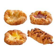 Danish pastry large mix (cinnamon whirl, maple pecan, crown apple, crown custard)