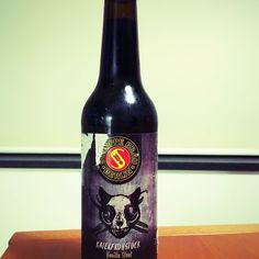 Great stout! 12% alcohol and vanilla taste