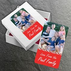 Our super cool photo stickers will turn your favourite memories into awesome photo stickers that you can peel and stick. Personalize that special great present. Customize - Change fonts, person's name and add your personal message. Add an image of your loved ones from your computer, Facebook or Instagram.