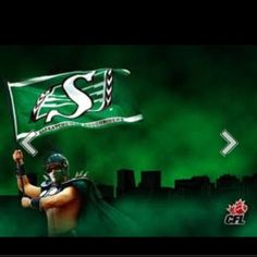 Saskatchewan Roughriders best team in history! Bring Em Out, Go Rider, Saskatchewan Roughriders, Canadian Football League, Saskatchewan Canada, Rough Riders, Green Colors, A Team, Pride