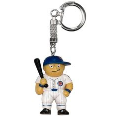 Chicago cubs reflective bullseye logo heart shaped key chain by chicago cubs lil brats key chain by rico chicago cubs chicagocubs altavistaventures Images
