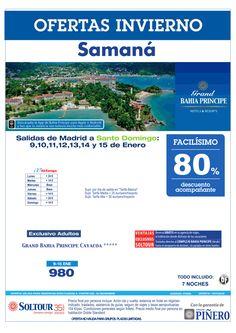 Samaná (Rep. Dominicana) 80% Grand Bahía Príncipe Cayacoa y Portillo, salidas en Enero desde Madrid ultimo minuto - http://zocotours.com/samana-rep-dominicana-80-grand-bahia-principe-cayacoa-y-portillo-salidas-en-enero-desde-madrid-ultimo-minuto/