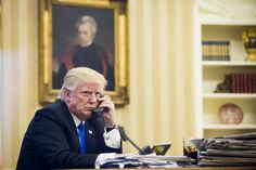 "A troubling report last month revealed that President Donald Trump still uses ""his old, unsecured Android phone"" despite protests from security experts and his closest advisers. He was given a more secure device once he took office , but for whatever reason, he refuses to make the switch and"