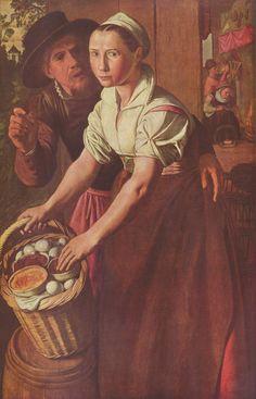die la vendeuse d'oeuf 1565 Joachim Beuckelaer