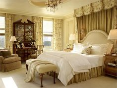 Traditional (Victorian, Colonial) Bedroom by Suzanne Tucker #TraditionalBedroomDecor