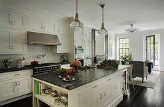 Kitchens iron range hood white shaker kitchen cabinets for End of line kitchen units