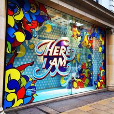 Fenwick of bond st. london by andrei robu on behance window display design, Window Display Retail, Window Display Design, Retail Windows, Shop Windows, Visual Merchandising Displays, Visual Display, Design Café, Store Design, Design Shop