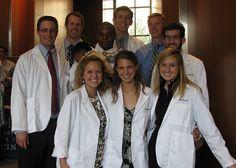 White Coat Ceremony day at Emory University School of Medicine. Photo by thtduck. #emory #atlanta #medschool #meded