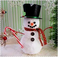 snowman dollar tree | Christmas * / Frosty the Snowman DIY Tutorial - Dollar Tree Crafting