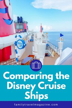 If you are considering a trip on the Disney Cruise Line, you may be wondering what is the best Disney Cruise Line ship. All four are great, so it's best to look at the specific activities, restaurants, itineraries, and other amenities. Disney Cruise Ships, Walt Disney World Vacations, Run Disney, Disney Dream, Animation Classes, Senses Spa, Castaway Cay, Western Caribbean, Alaskan Cruise