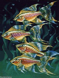 fish Source by Art Carte, Watercolor Fish, Underwater Creatures, Fish Patterns, Fish Art, Fish Fish, Sea Art, Beautiful Fish, Colorful Fish