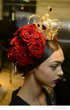 Dolce & Gabbana Beauty for Spring 2015 --With a runway show inspired by the Spanish influence on Sicily, the beauty for Dolce & Gabbana's spring-summer 2