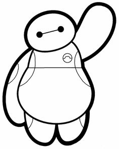 Disney Big Hero 6 Baymax Iron On Heat Transfer Vinyl for Bmax Disney, Cute Disney, Disney Facts, Disney Movies, Disney Characters, Disney Coloring Pages, Colouring Pages, Coloring Books, Mickey Tumblr