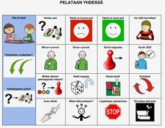 Yhteisiin lautapelihetkiin tukemaan vuorovaikutusta pelaajien välillä. Speech Therapy, Kindergarten, Teaching, Education, School, Peda, Speech Pathology, Kinder Garden, Speech Language Therapy
