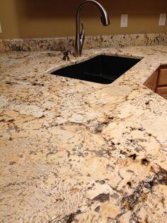 Italian Bianco Granite Kitchen #vangura
