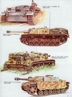German Panzer stug III