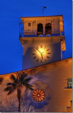 Santa Barbara Courthouse - I work in the Admin building right across the street.  Love it.