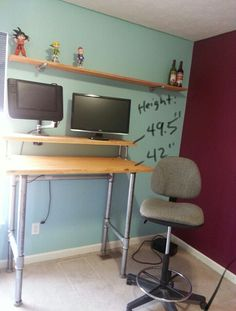 wrap around office desk. perfect around diy standing desk made from pipes with wrap around office desk a