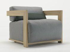 CLAUD | Armchair By Meridiani design Andrea Parisio