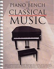 The Piano Bench Of Classical Music Sheet Music | Sheet Music Plus
