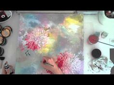 Artist Gang Stephanie Schütze - 2015 July 14 - YouTube / beautiful...LOVE the background!
