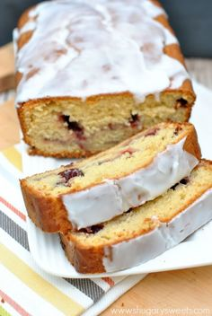 Cranberry Orange Bread: super easy, moist quick bread makes two loaves, great for freezing too!