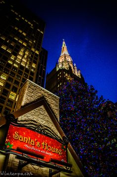 Christmas in Santa's House, Chicago
