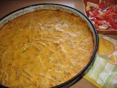 """Boranija sa jajima i kiselom pavlakom - Veoma jednostavan, starinski recept, preuzet iz """"Velikog narodnog kuvara"""". Ja sam samo dodala kiselu pavlaku."""