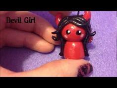 Polymer Clay Chibis - Devil, Angel and Girls