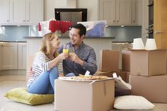 Buy Couple Celebrating Moving Into New Home With Pizza by monkeybusiness on PhotoDune. Couple Celebrating Moving Into New Home With Pizza Buying Your First Home, Home Buying, Drink Photo, Selling Real Estate, Ankara, New Homes, Stock Photos, Couples, Celebrities
