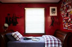 Boy's bedroom, we try to remain calm about the boys decorating ideas Remain Calm, Boy Decor, Book Design, Hibiscus, Home Goods, Decorating Ideas, David, Rooms, India