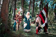 Landsknecht, Historical Clothing, Renaissance, Clothes, Dresses, Fashion, Kleding, Black, Outfits