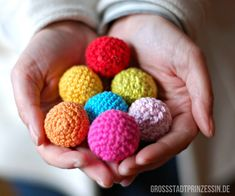 I offer you colorful crochet balls! #thehands #offering_hands #sacred_offerings