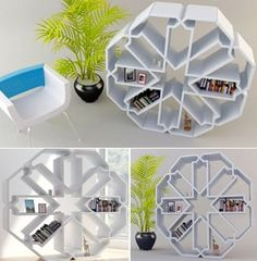 Bibliothèque Zelli Bookcase: Designed By Younes Duret, The Bibliothèque  Zelli Bookcase · Creative BookshelvesBook ...