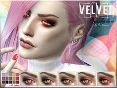 Pralinesims' Velvet Eyeshadow   N16