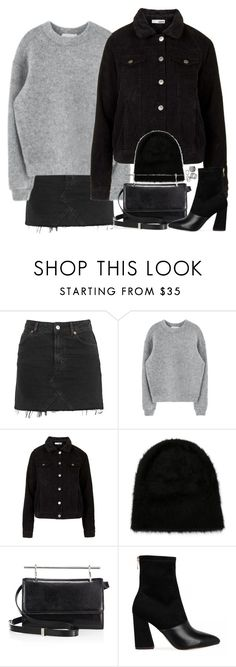 """""""#"""" by bruna-linda-12 ❤ liked on Polyvore featuring Topshop, REINHARD PLANK, M2Malletier and Pieces"""