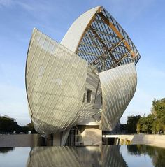 The Louis Vuitton Foundation Museum by Frank Gehry