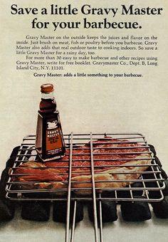 Gravy Master ad from 1968.