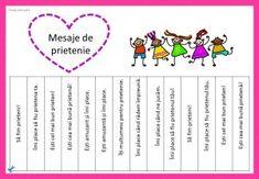Mesaje de incurajare, de multumire, de felicitare. Ia un biletel cu mesaj My Little Pony Coloring, Educational Activities For Kids, Diagram, Mindfulness, School, Books, Libros, Book, Book Illustrations