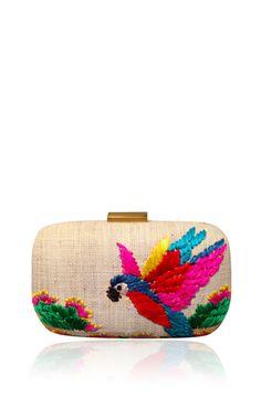 Peach Macaw Minaudiere
