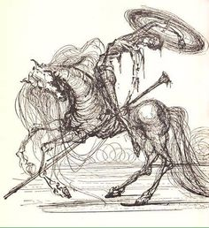 Don Kihote Salvador Dali