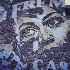 Vhils  Second piece for the RiseAbove festival in Downtown Las Vegas