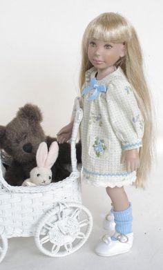 Leeann looks Sweet as Pie in her babydoll dress.