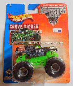 2004 Hot Wheels Grave Digger Monster Jam 1 64 Truck for sale online Monster Jam, Monster Trucks, Matchbox Cars, Digger, Trucks For Sale, Kids And Parenting, Hot Wheels, Diecast, Favorite Things